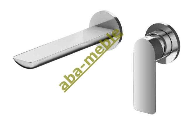czarna bateria umywalkowa Oras